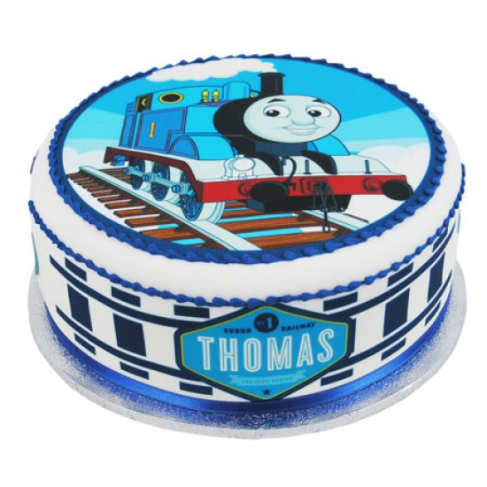 Thomas The Tank Engine Round Cake Small