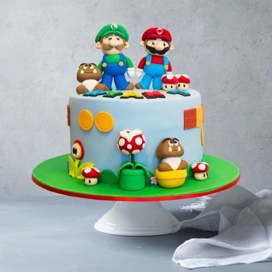 Mario Party Custom Birthday Cake