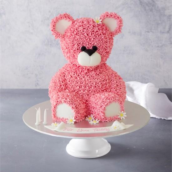 Miraculous Teddy Bear Birthday Cake Birthday Cards Printable Nowaargucafe Filternl