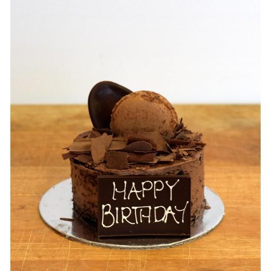 Chocolate Mini Mud Birthday Cake