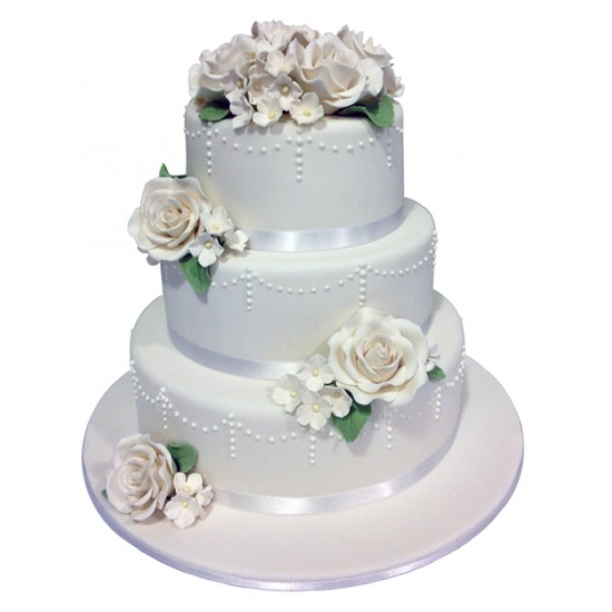 dream wedding cake classic wedding cake 13745