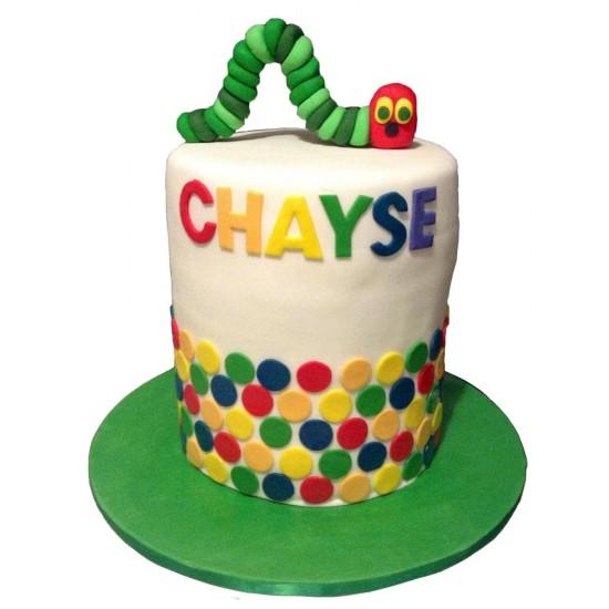 Race Engine Birthday Cake