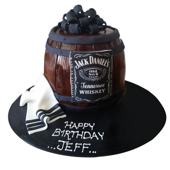 Beer Design Birthday Cake