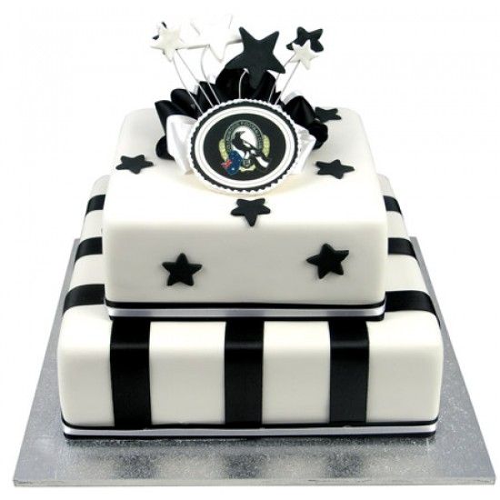 Afl Football Team Cake Two Tiers