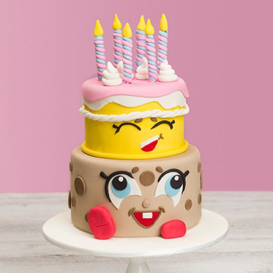 Kawaii Custom Birthday Cake
