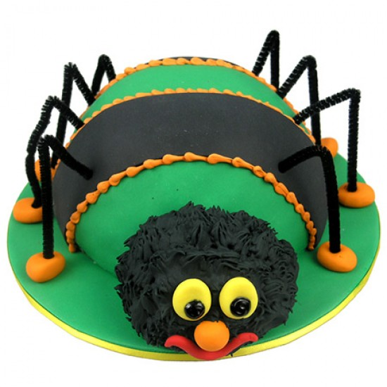 Spider Birthday Cake