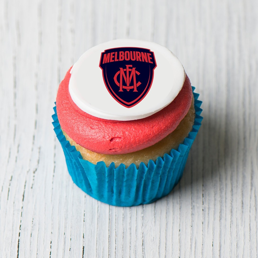 Melbourne Demons Cupcakes