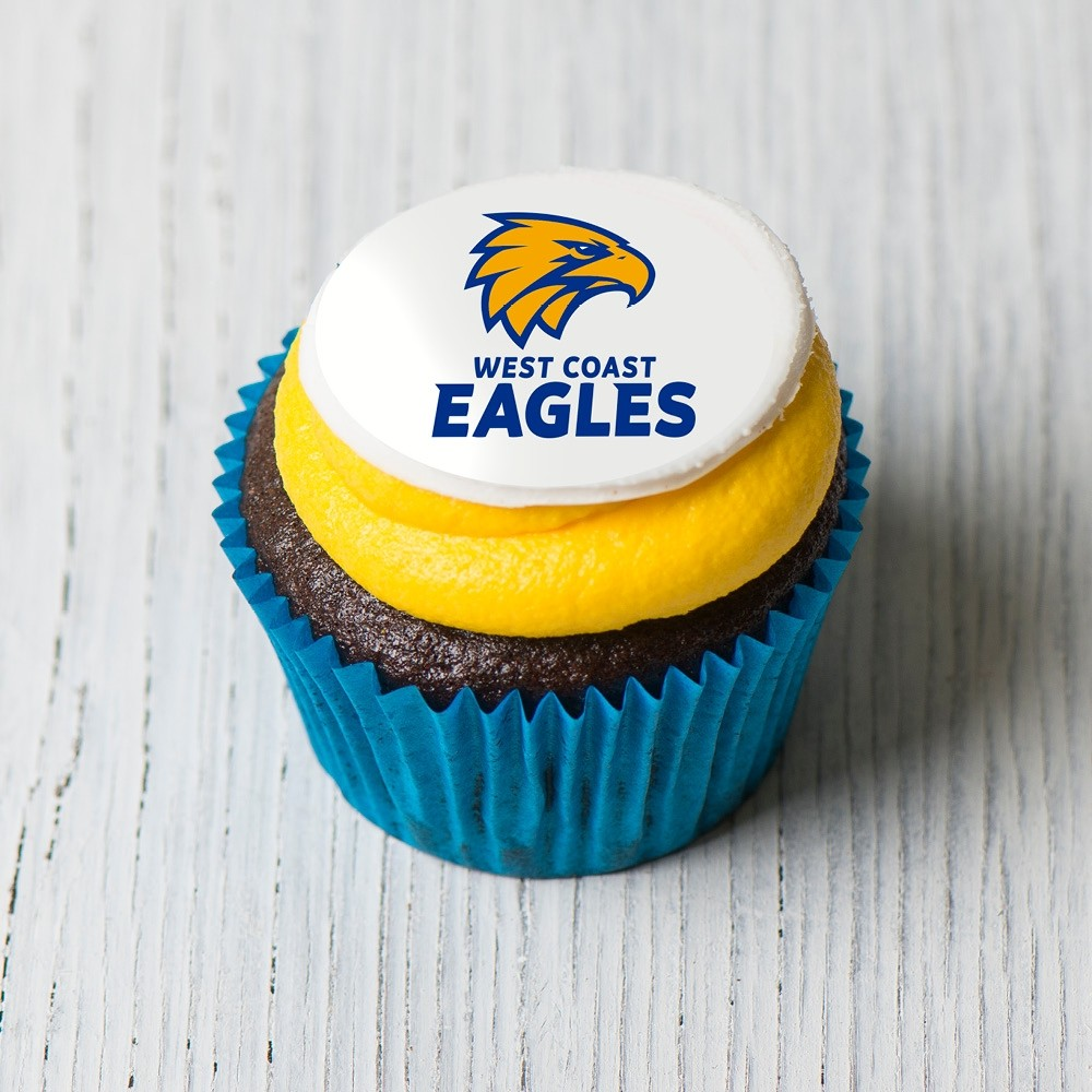 West Coast Eagles Cupcakes