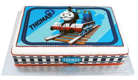 Thomas The Tank Engine Rectangle Cake