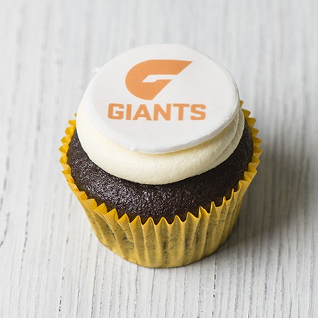 Greater Western Sydney Giants Cupcakes