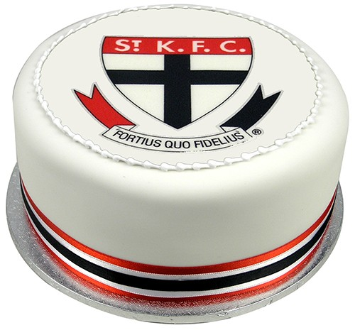 AFL Football Team Cake Edible Image