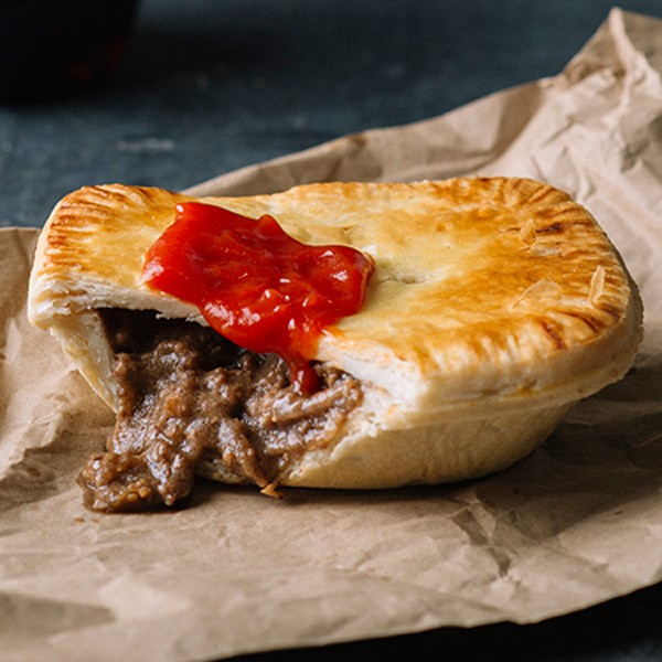 Beef Pie lunch