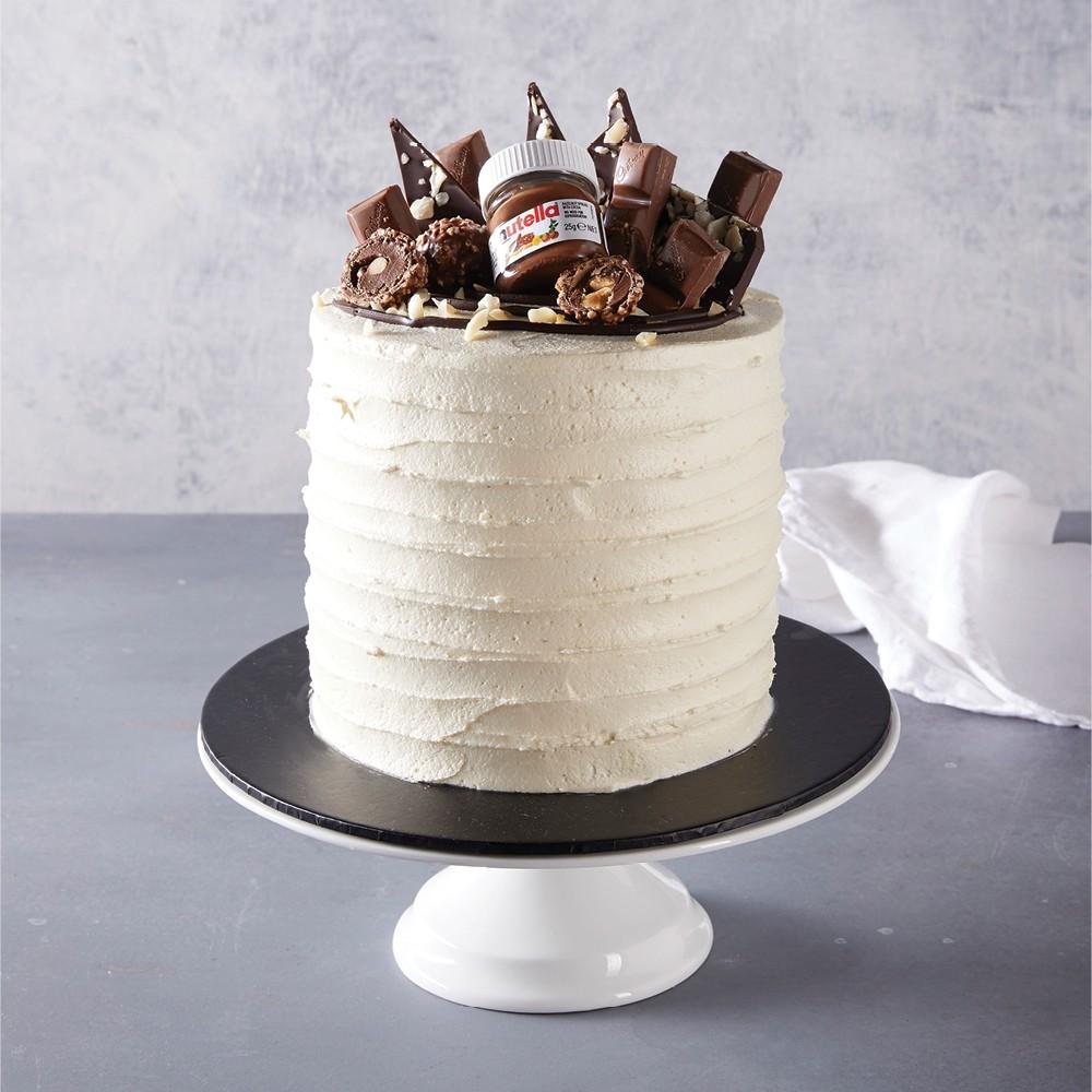 Chocolate & Vanilla Buttercream Celebration Cake
