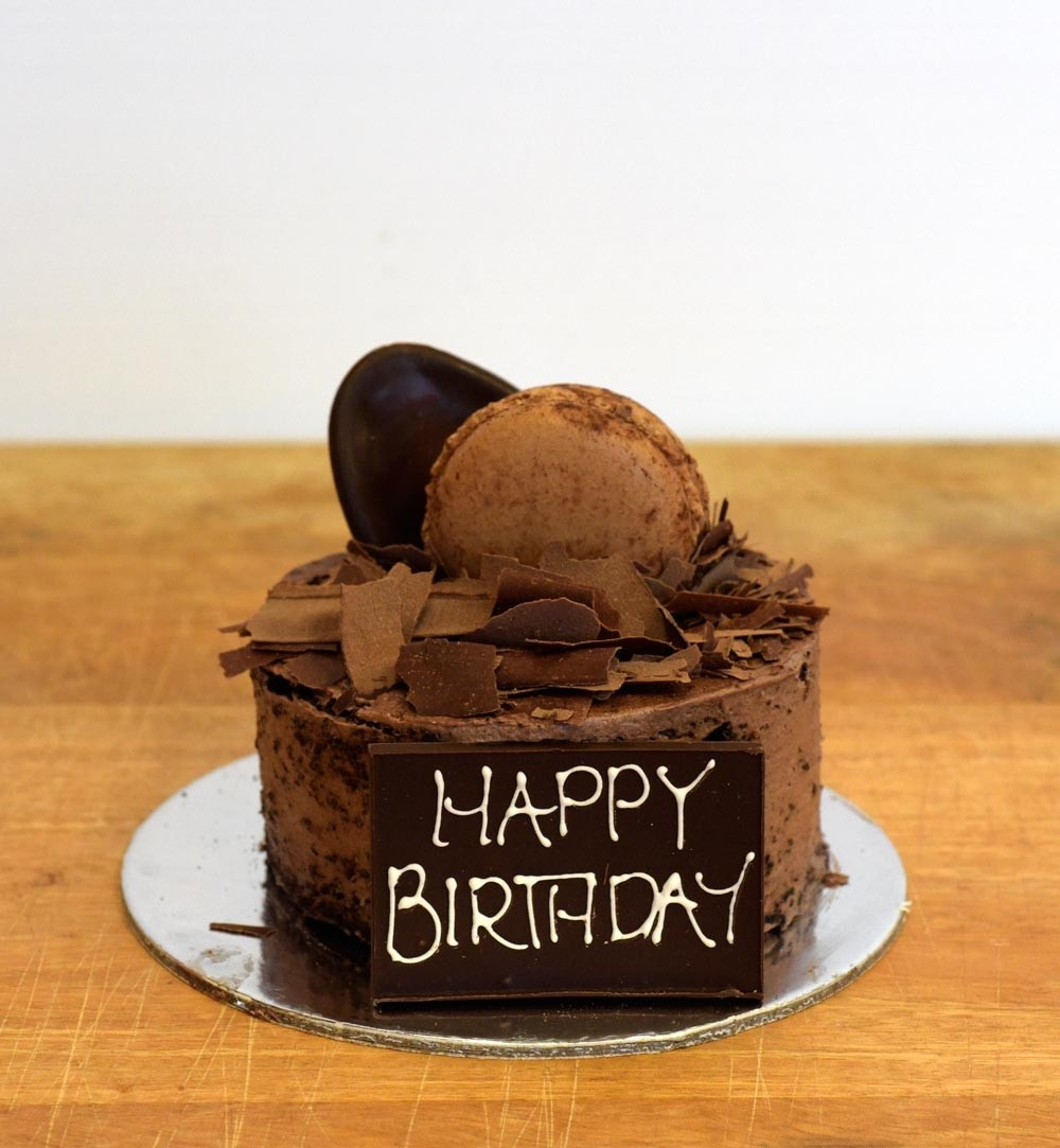 Chocolate Mini Mud Birthday Cake