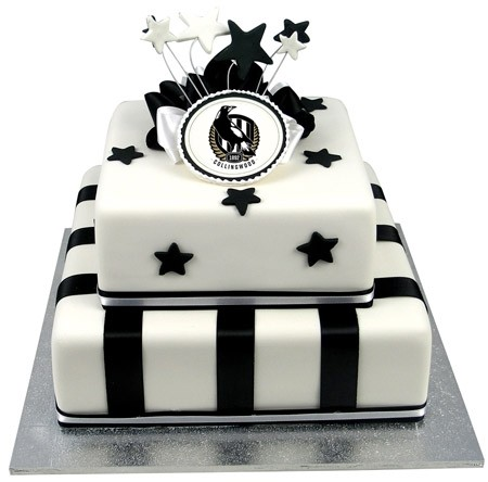 AFL Football Team Cake - Two Tiers