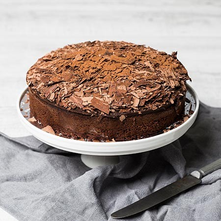 Chocolate Truffle Cake (Flourless)