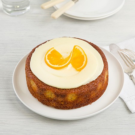 Candied Orange Flourless Cake