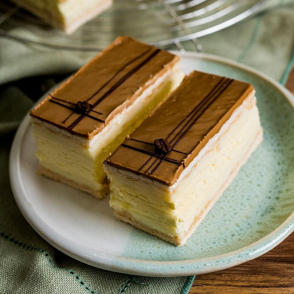 French Vanilla Slice