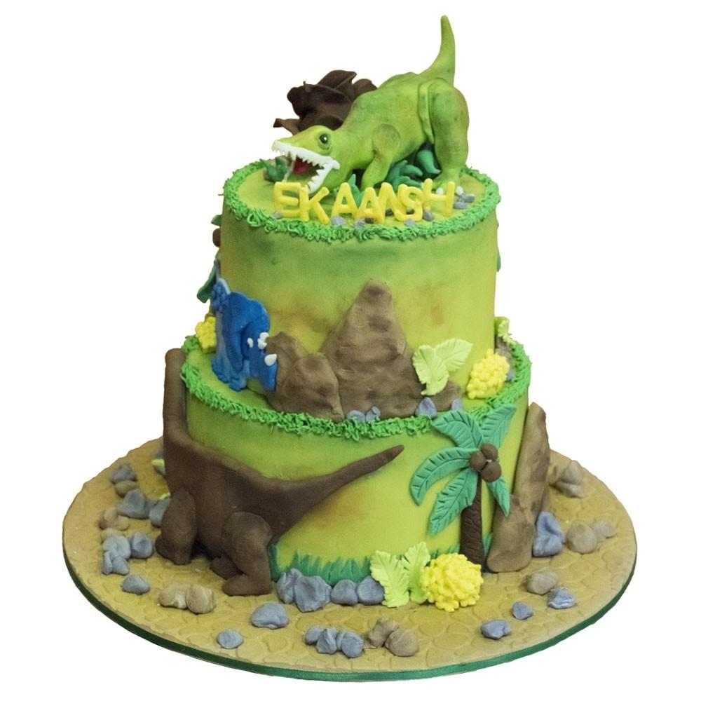 Jurassic Park Birthday Cake