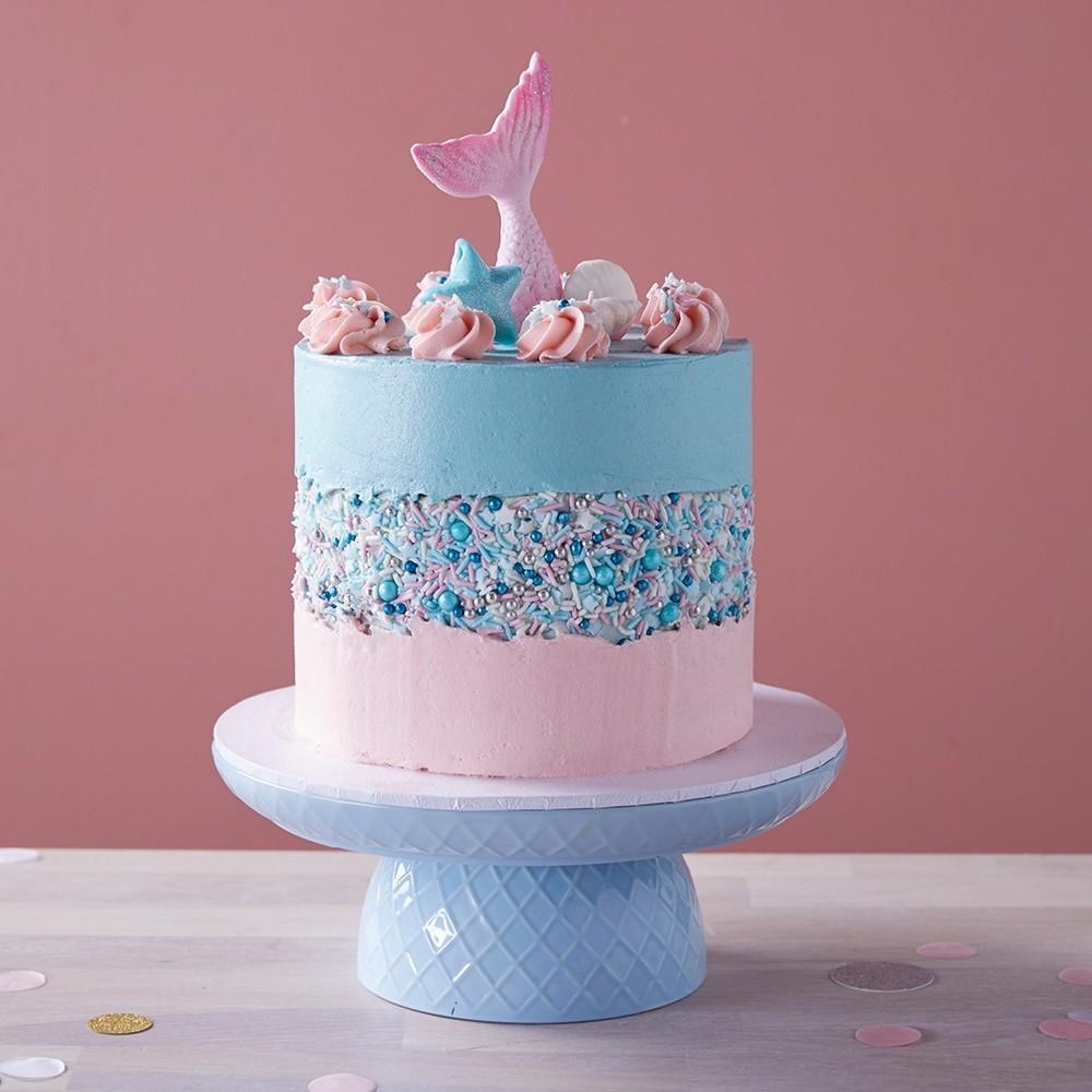 Mermaid Fault Line Cake