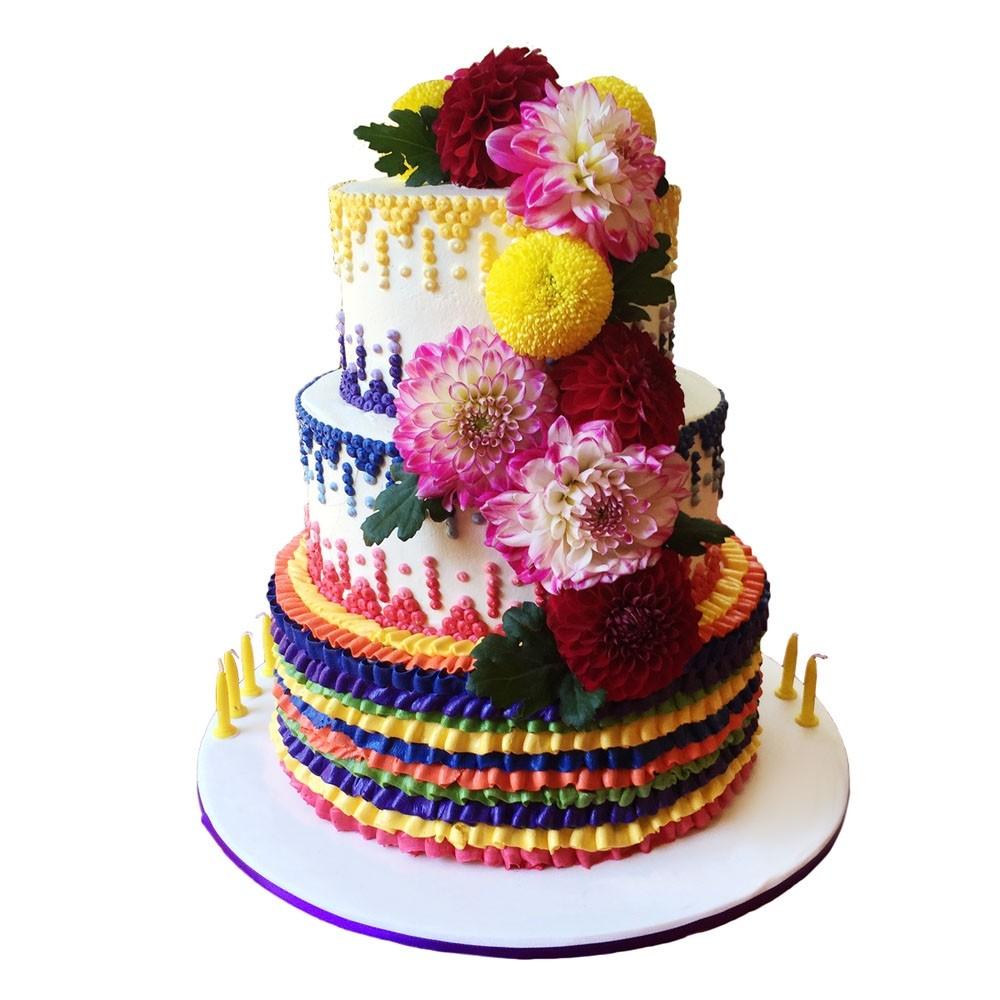 mexican stud birthday cake