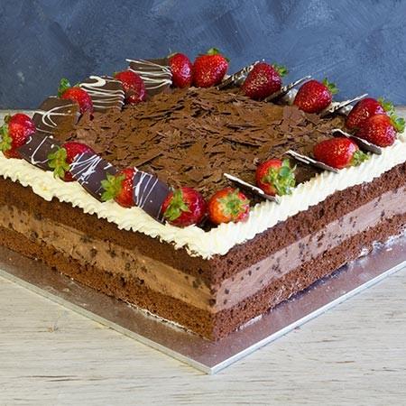 "Chocolate Mousse Cake 13"""
