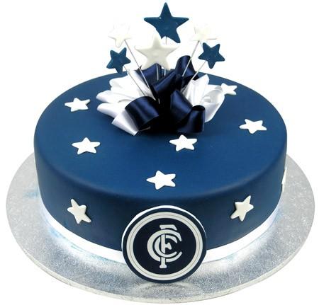 AFL Football Team Cake w Stars