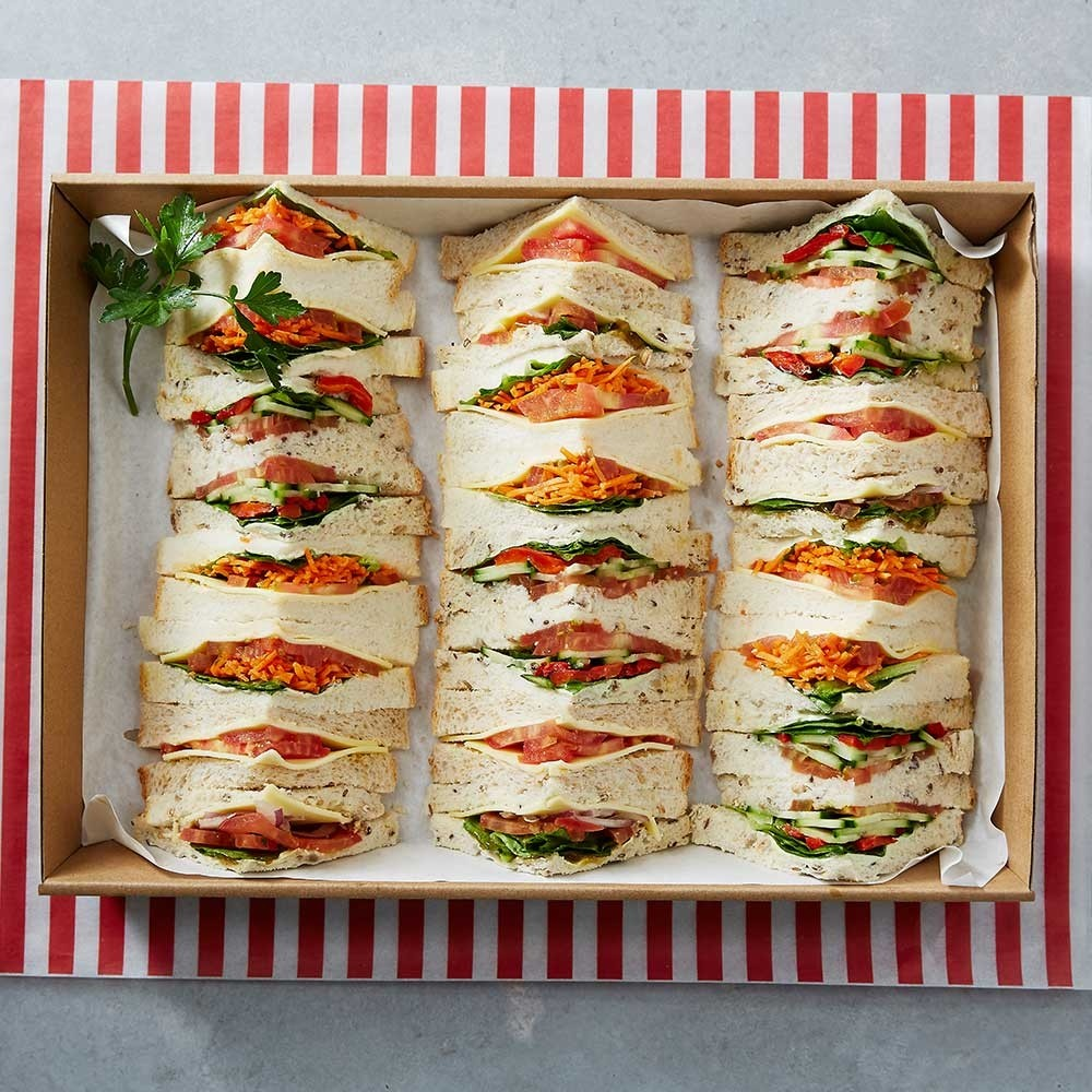 Premium vegetarian sandwiches platter forumfinder Choice Image