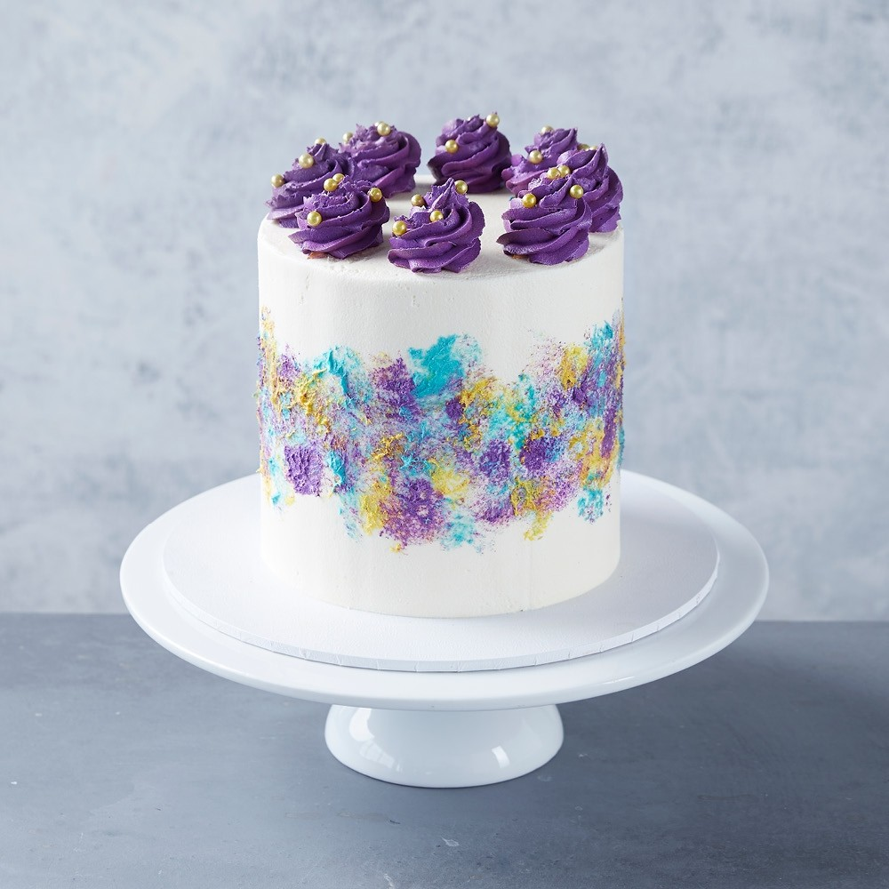 Purple Palette Cake