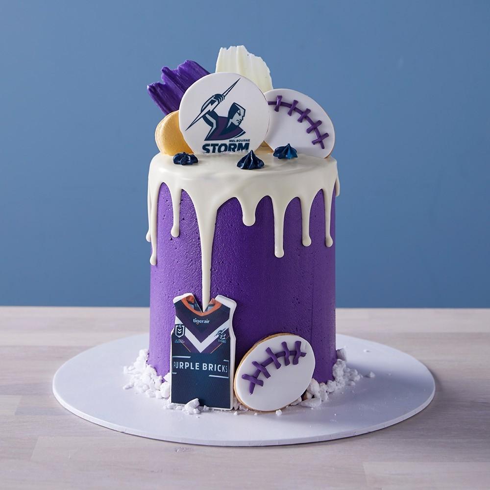 Rugby League Custom Cake