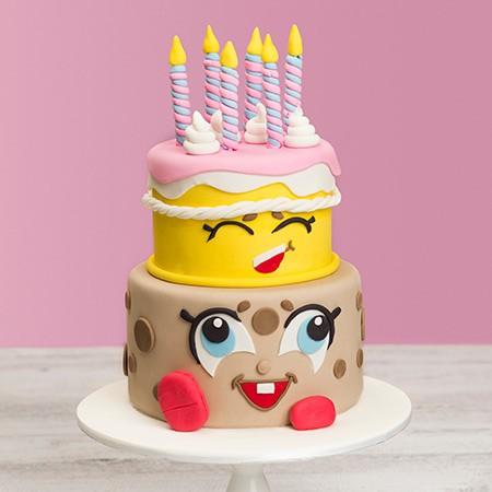 Kawaii Custom Birthday Cake