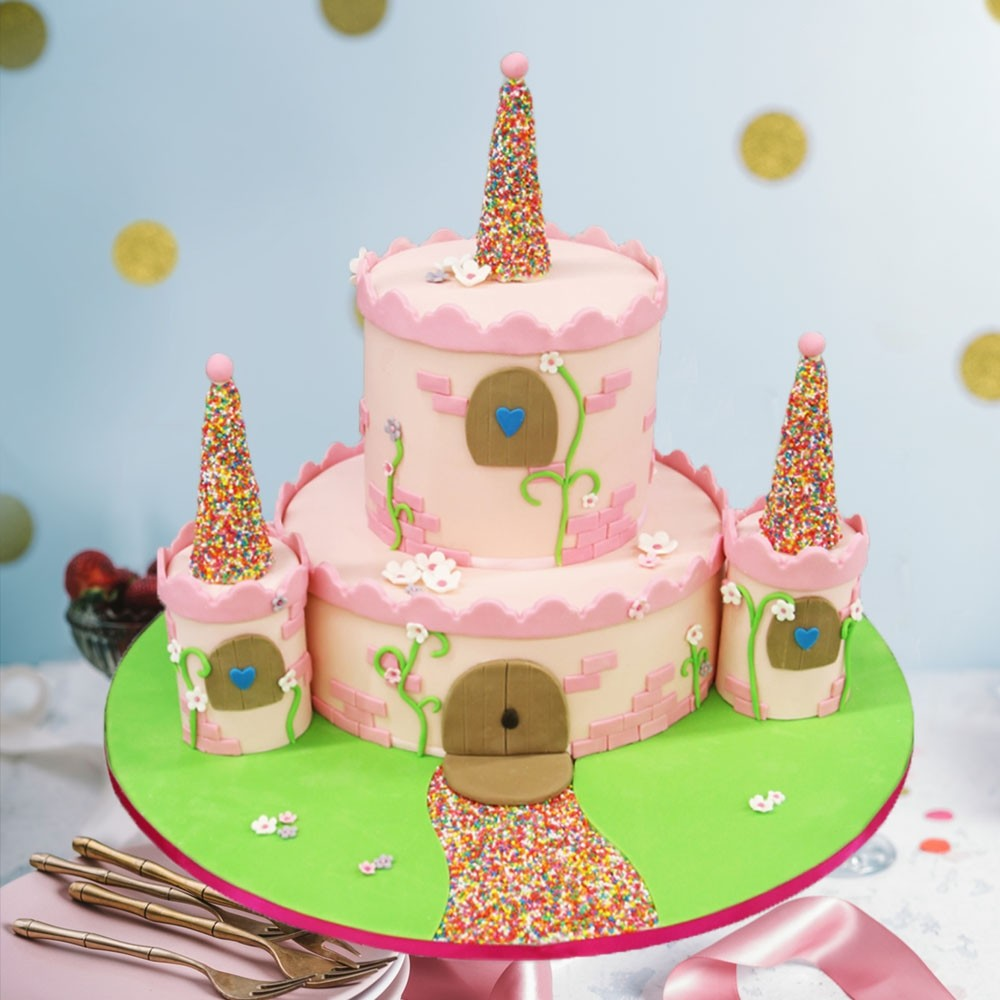 Fairy Tale Castle Birthday Cake