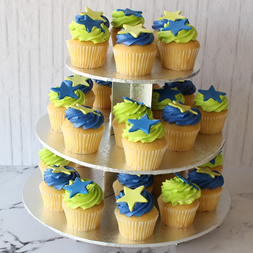 Stars Cupcake Cake