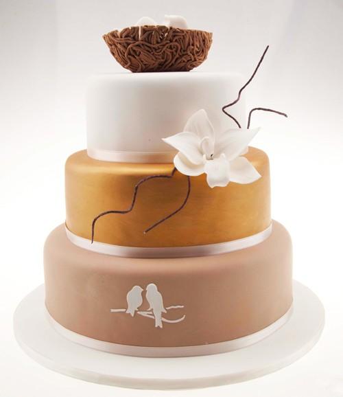 Sweet Nest Wedding Cake