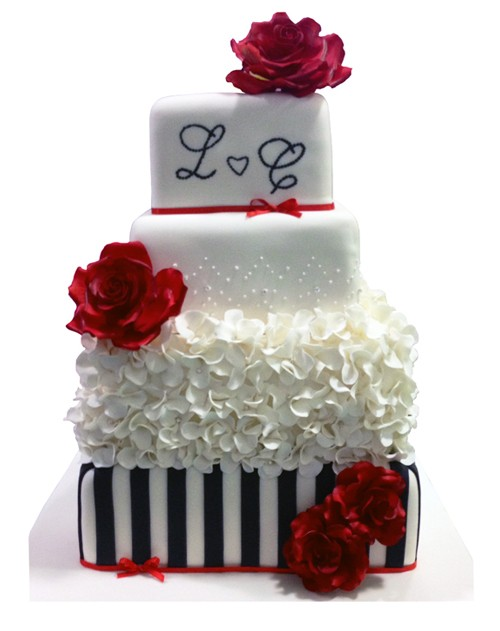 Love Gift Wedding Cake
