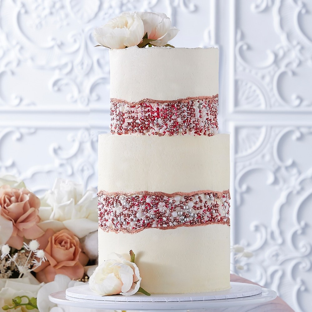 Fault Line Wedding Cake