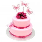 Two Tier Butterfly Delight