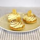 Mushroom Tart - Jam & Cream