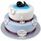 A Whale in the Water Cake