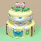 Peas in a Pod Custom Cake