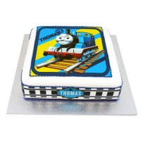 Thomas the Tank Engine Square cake - Large