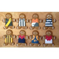AFL Gingerbread Footy Players