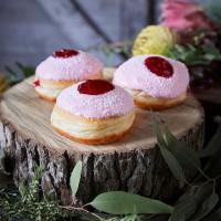 Iced Vovo Donut