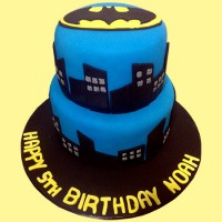 Batman Custom Birthday Cake