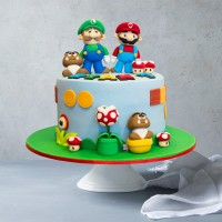Mario Party Custom Birthday Cake