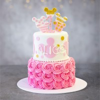 Minnie The Mouse Birthday Cake