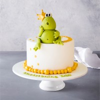 King Kermit the Frog Birthday Cake