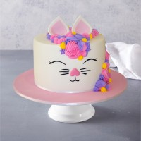 Kitty Kat Birthday Cake