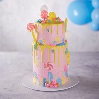 Lolly Drip Celebration Cake