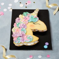 Classic Unicorn Cookie Cake
